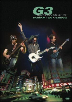 G3 - (Vai, Satriani, Petrucci) Live in Tokyo DVD
