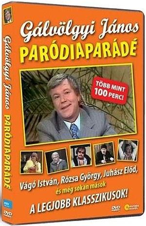 Gálvölgyi János - Paródiaparádé DVD