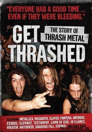 Get Thrashed: The Story Of Thrash Metal DVD