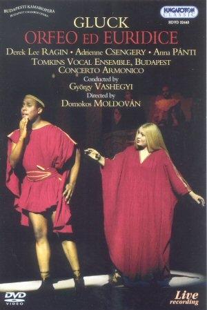Gluck - Orfeusz és Euridike DVD
