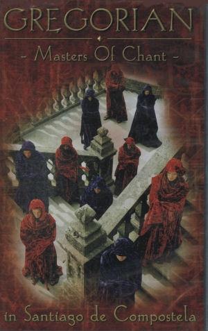 Gregorian - Master of Chant in Santiago de Compostela - VHS videókazetta