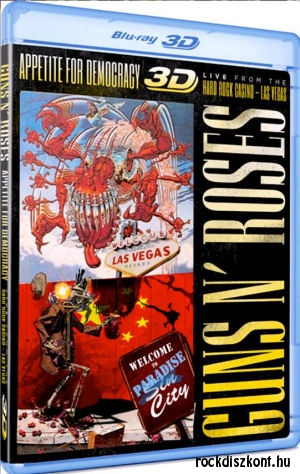 Guns N Roses - Appetite For Democracy 3D: Live at the Hard Rock Casino - Las Vegas (3D Blu-Ray)