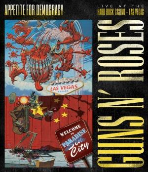 Guns N Roses - Appetite For Democracy: Live at the Hard Rock Casino - Las Vegas DVD