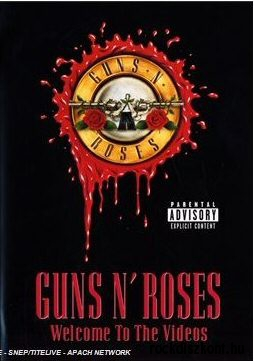 Guns n Roses - Welcome To The Videos DVD