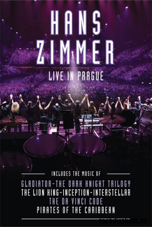 Hans Zimmer - Live In Prague DVD