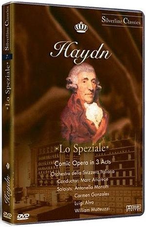 Haydn: Lo Speziale (Comic Opera in 3 Acts) Vígopera 3 felvonásban (olasz nyelven) DVD