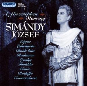 A főszerepben (Starring): Simándy József CD
