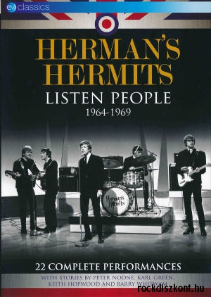 Herman's Hermits - Listen People 1964-1969 (22 Complete Performances) DVD