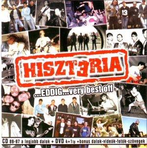 Hisztéria - ...Eddig... - Very Best Off CD+DVD