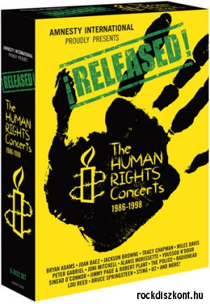 Released! - The Human Rights Concerts 1986-1998 6DVD