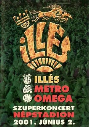 Illés - Szuperkoncert 2001. Népstadion DVD