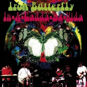 Iron Butterfly - In-a-Gadda-Da-Vida (Psychedelic Coloured Vinyl) LP
