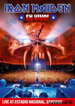 Iron Maiden - En Vivo! - Live at Estadio Nacional, Santiago 2DVD