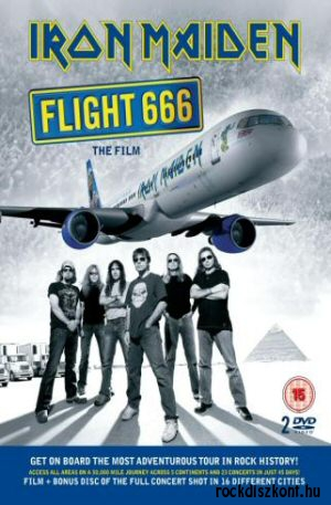 Iron Maiden - Flight 666 2DVD