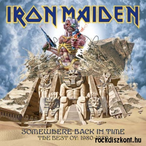 Iron Maiden - Somewhere Back in Time - The Best of: 1980-1989 (180 gram Vinyl) 2LP