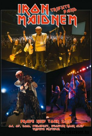 Iron Maidnem - Brave New Tour 2010 DVD