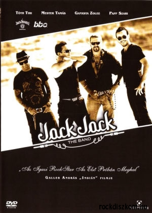 Jack Jack - Az igazi rocksztár az első próbán meghal - fekete-fehér, magyar zenés film DVD