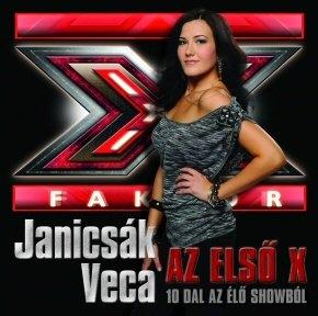 Janicsák Veca - Az első X - 10 dal az élő showból CD