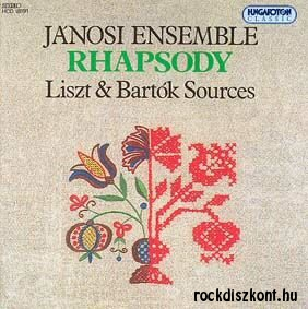 Jánosi Együttes - Rhapsody Liszt & Bartók Sources CD