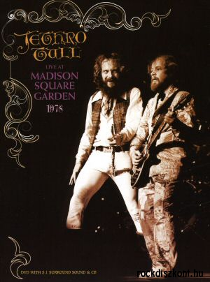 Jethro Tull - Live At Madison Square Garden 1978 DVD+CD