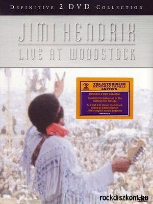 Jimi Hendrix Experience - Live at Woodstock (Definitive 2 DVD Collection) 2DVD