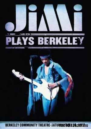 Jimi Hendrix - Jimi Plays Berkeley - Berkeley Community Centre in 1970 DVD