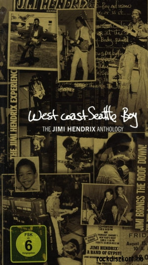 Jimi Hendrix - West Coast Seattle Boy - The Jimi Hendrix Anthology 4CD+DVD