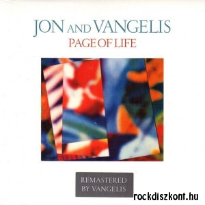 Jon and Vangelis - Page of Life (Remastered by Vangelis + 1 Bonus) CD