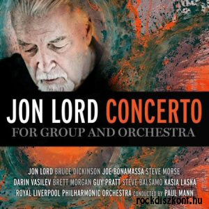 Jon Lord - Concerto For Group And Orchestra (new studio recording 2012) CD+DVD