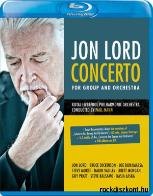 Jon Lord - Concerto for Group and Orchestra Blu-ray+CD