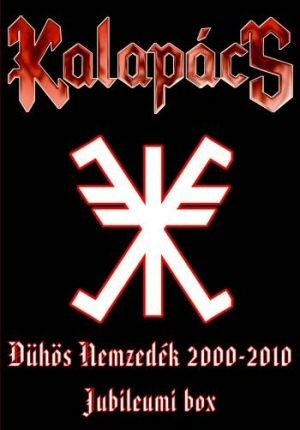 Kalapács - Dühös nemzedék 2000-2010 - Jubileumi DVD+3CD Box