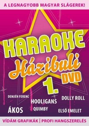 Karaoke Házibuli 1. DVD