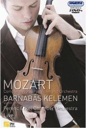 Mozart - Összes műve hegedűre és zenekarra - 2 DVD