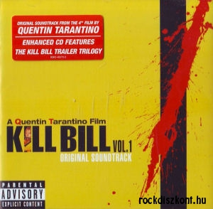A Quentin Tarantino Film - Kill Bill Vol 1 - Original Soundtrack CD