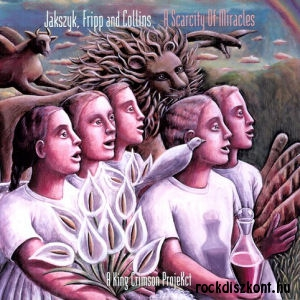 A King Crimson ProjeKct - Jakszyk, Fripp and Collins - A Scarcity of Miracles LP