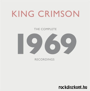 King Crimson - The Complete 1969 Recordings - 4 Blu-Ray, 1 DVD-A, 1 DVD, 20 CD
