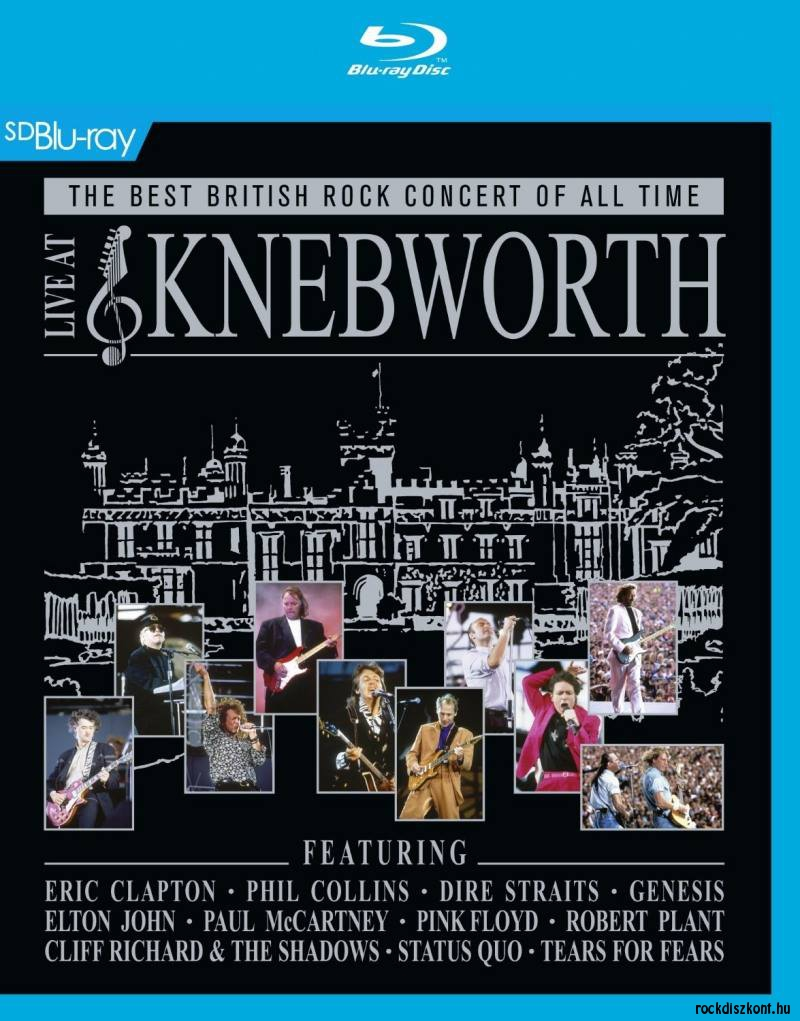 Live At Knebworth - The Best British Rock Concert Of All Time - Parts One, Two & Three (Blu-ray)