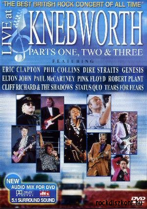 Live At Knebworth - The Best British Rock Concert Of All Time - Parts One, Two & Three 2DVD