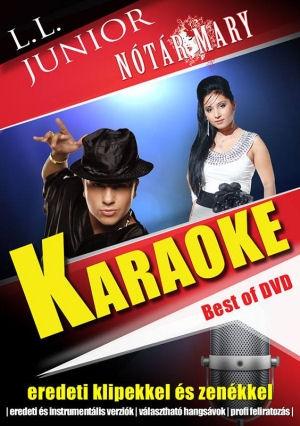 L.L. Junior - Nótár Mary - Karaoke - Best of (Eredeti klipekkel és zenékkel) DVD