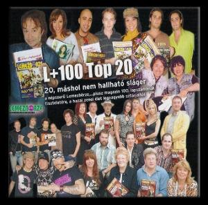 L+100 Top 20 - 20, máshol nem hallható sláger CD