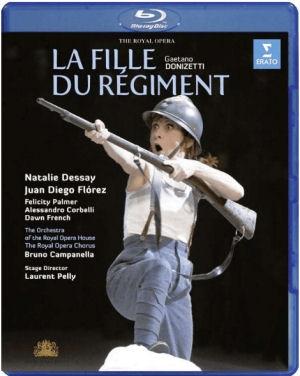 Donizetti: La Fille du régiment (Az ezred lánya) Blu-ray