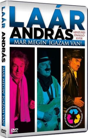 Laár András abszurd önálló estje - Már megin igazam van! - DVD