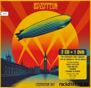 Led Zeppelin - Celebration Day 2CD+DVD