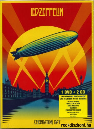 Led Zeppelin - Celebration Day DVD+2CD