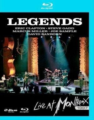 Legends: Live at Montreux 1997 - Clapton / Gadd  / Miller / Sample / Sanborn (Blu-ray)
