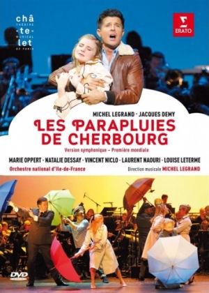 Michel Legrand: Les Parapluies de Cherbourg (Cherbourgi esernyők) Symphonic Version DVD