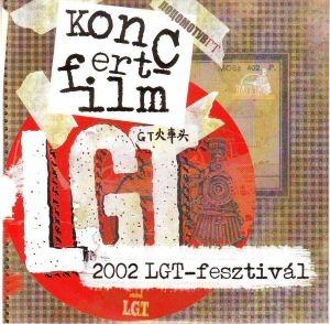 Locomotiv GT - Koncertfilm - 2002 LGT-Fesztivál (kartontokos) DVD