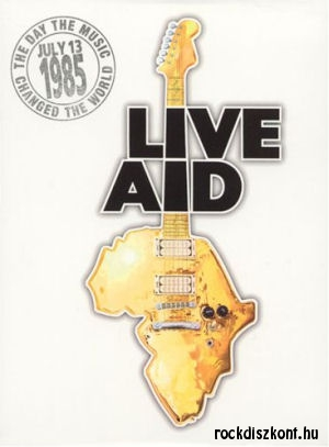 Live Aid - The Day The Music Changed The World July 13 1985 - 4DVD