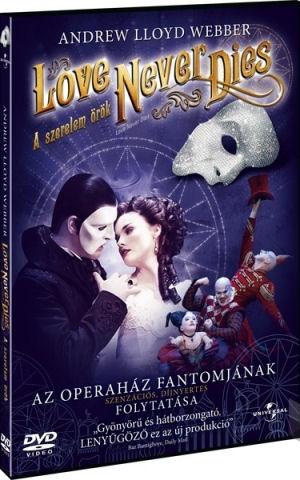 Andrew Lloyd Webber: Love Never Dies - A szerelem örök DVD