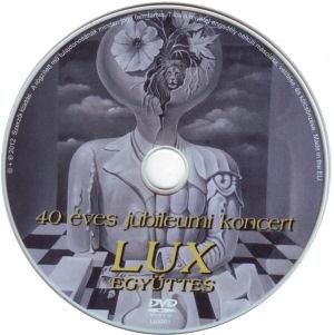Lux - 40 éves jubileumi koncert (papírtokos) DVD